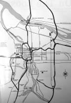 1988 Portland Destinations guide. Another sad map.