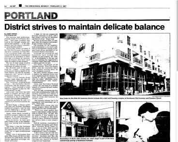 The Oregonian ran a story in 1987 kind of saying NW was played out.