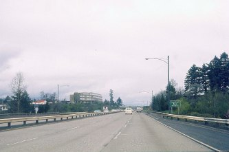 I-5 North near SW 26th Ave underpass.1974