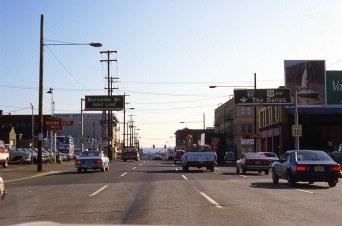 NE. Union Ave @ Davis St., September, 1982, Portland, OR.