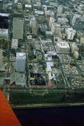 Downtown Portland aerial, 1980