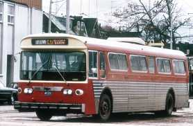 This trollybus is in Toronto