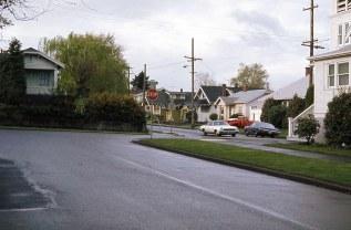 SE 52nd @ Lincoln, Portland, April 1977