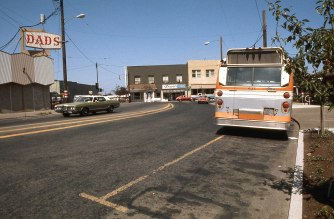 Downtown St Johns, Portland, OR. August, 1975