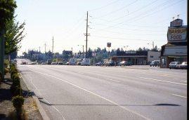 SW Barbur Blvd, Portland, OR1986.