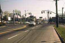 12th at Burnside and Sandy Blvd, 1977