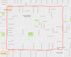 "A ""Good Neighborhood"" Google Maps, 2016."