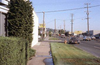 SW Macadam Blvd. Portland, OR. 1977
