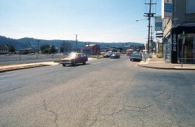 St. Johns. N. Ivanhoe at John Street. Looking west. 1975