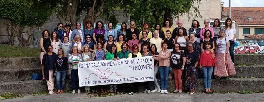 Fademur no I Encontro da Cuarta Ola de Rede pola Igualdade en Panxón