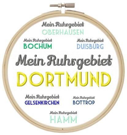 Ruhrgebiet Städtenamen