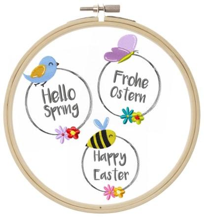 Frühling Ostern Set