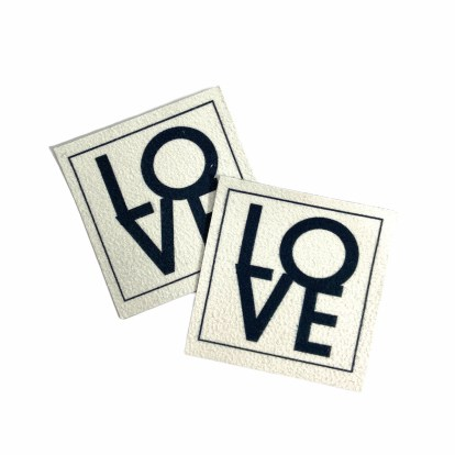Love Patch Label