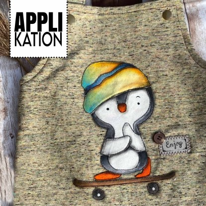 Applikation SkaterPinguin