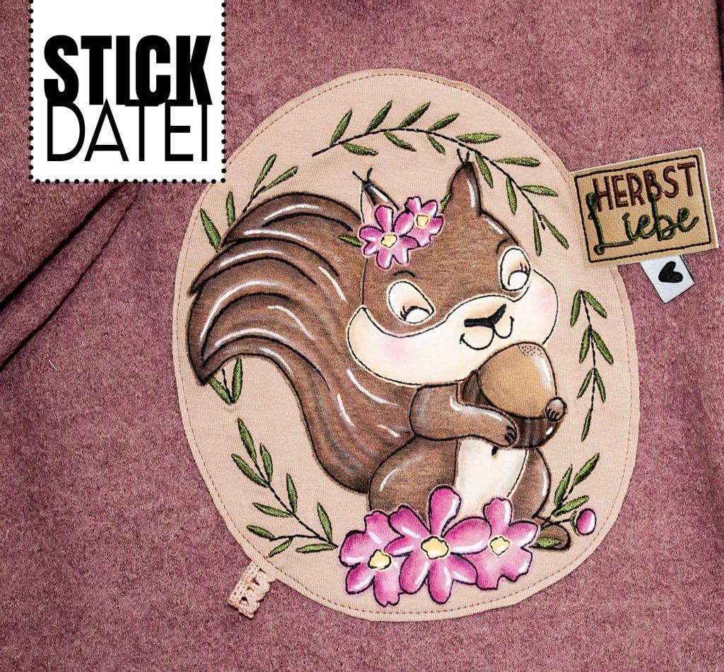 Doodlestick Eichhörnchen