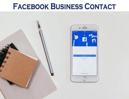 Facebook Business Contact