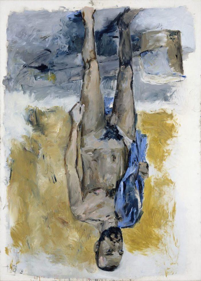 Georg Baselitz, Fingermalerei -Akt (Finger Painting –Nude), 1973