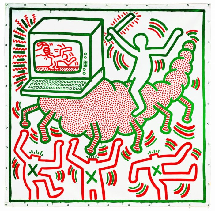 Keith Haring, 1958–1990 Untitled 1983
