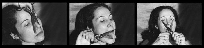 Anna Maria Maiolino, É o que sobra, da série Fotopoemação