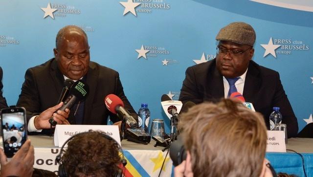 """Le président Tshisekedi a nommé son oncle, Mgr Gérard Mulumba, """"chef de la maison civile"""" du chef de l'État, avec rang de ministre, dans une ordonnance lue mercredi sur la chaîne d'Etat."""