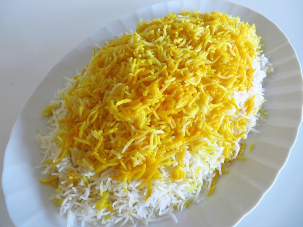 Polo Sefid Persian Plain Rice Amp Tah Dig Fae