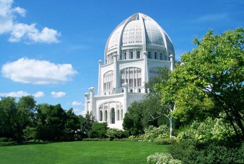 The Bahá'í House of Worship, Wilmette, Illinois
