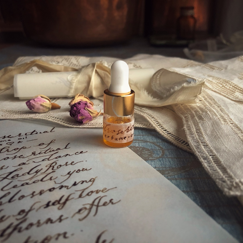 Jupiter's Daughter Apothecary   Scent   Wild Rose Ritual   Perfume Oil
