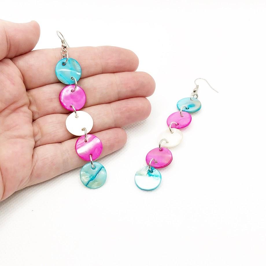 transgender support earrings