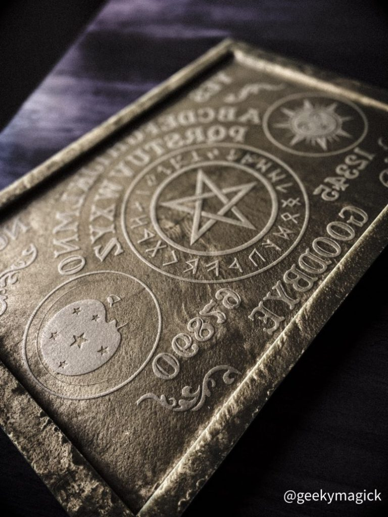 Ouija Board with Norse Runes