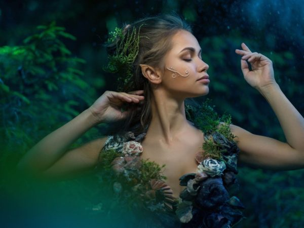 fae, faerie, green, model