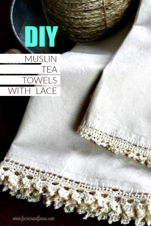 DIY kitchen towels for farmhouse decor. An easy sewing project. DIY towel, DIY kitchen towels, craft ideas for dish towels tea towel projects
