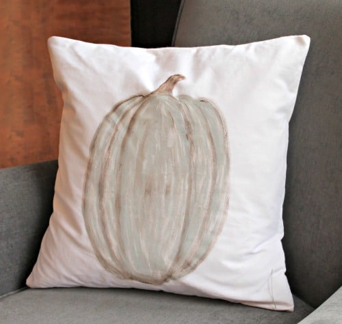 Pumpkin, Fall, DIY, Sewing, Painting, Home Decor