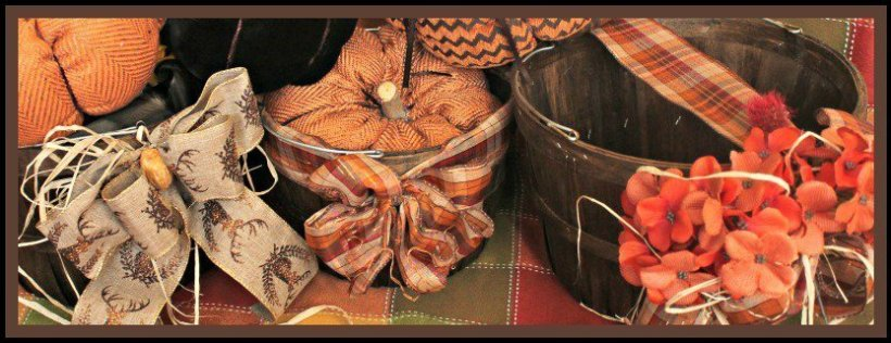 DIY, Fall, Baskets, Home Decor