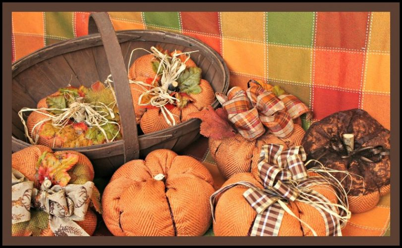 DIY, Home Decor, Fall, Baskets