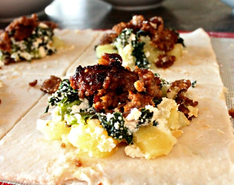 Beef, Kale, Hand Pie, Fall, Recipe