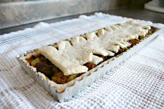 Pie, Savory, Fall, Recipe, DIY