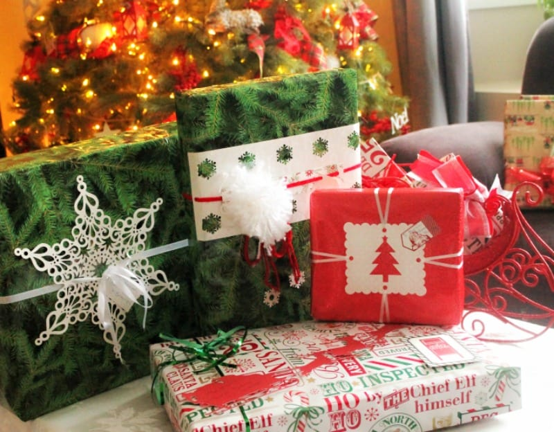 Wrapping Gift,s Christmas, Mail