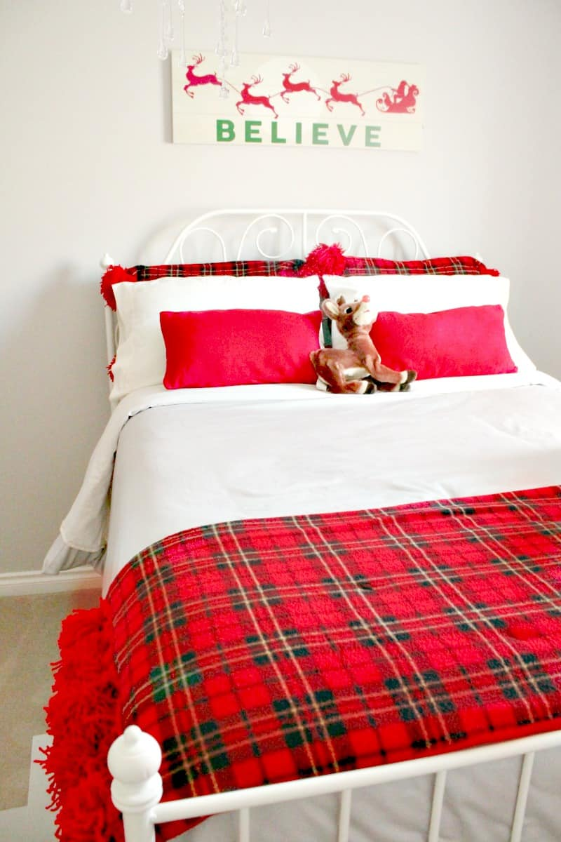 DIY, Tartan, Christmas, Home Tour