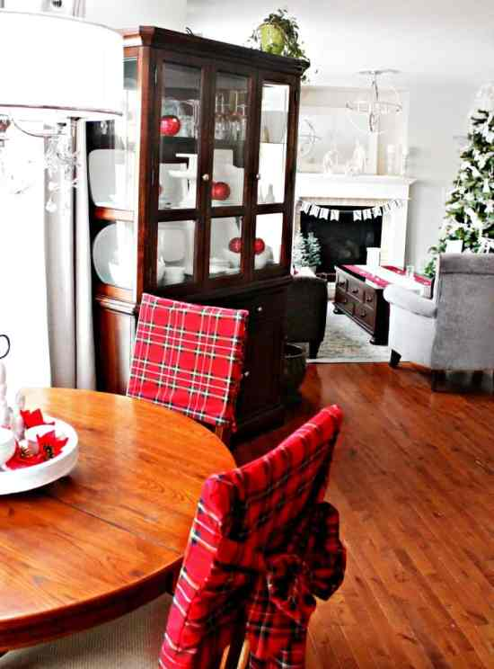 Christmas, Decor, Home Tour, Tartan