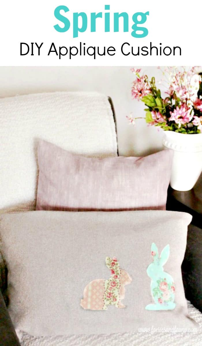 Diy Couch Cushions For Spring Or Easter