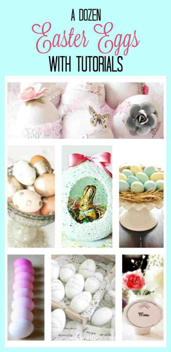 Easter Eggs, egg decorating, Easter decor, how to decorate Easter eggs.