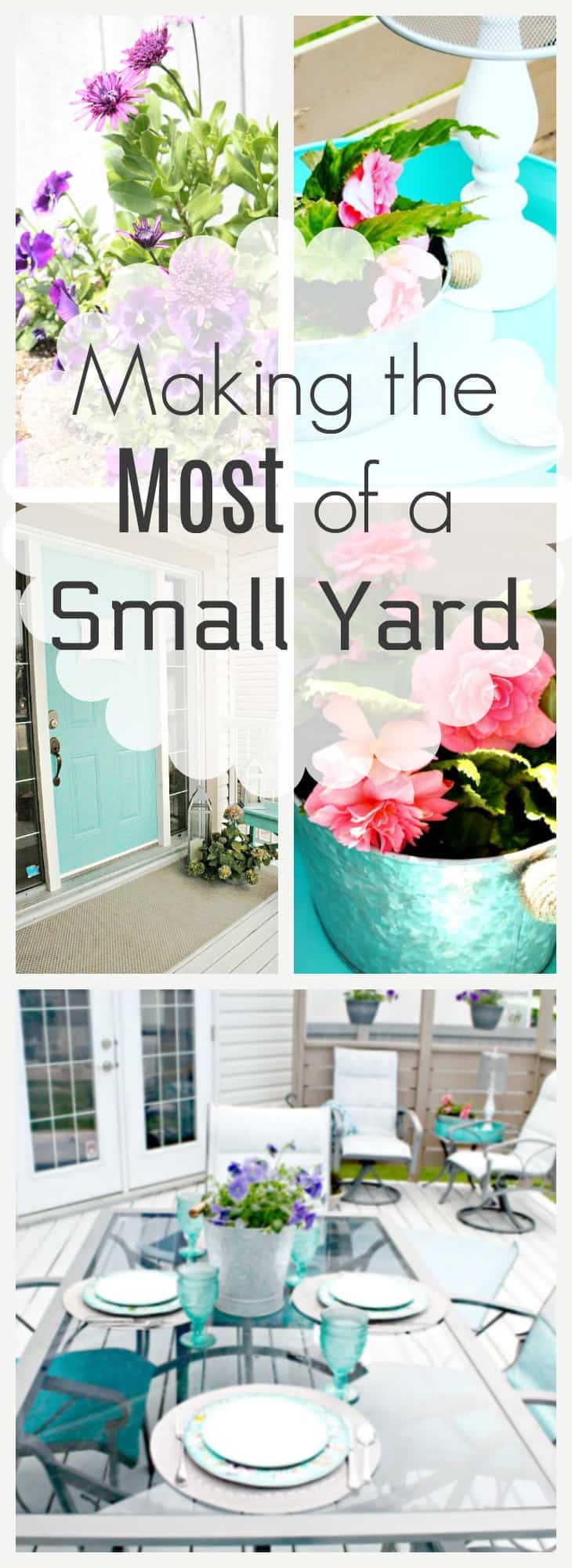 Small Yard, Make the Most of a Small Yard, Add a theme to a small yard to add impact.