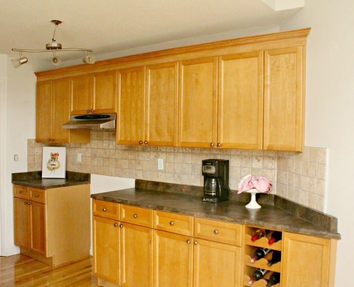 Adding Kitchen Cabinet Moulding To Existing Cupboards