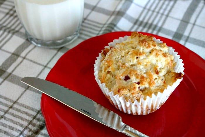 Ham and Cheese Muffins, Freeze ahead lunches, savory muffin recipes