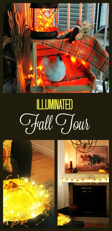 Fall Home Tour, fall decor ideas, diy fall decorating, fall home tour 2017