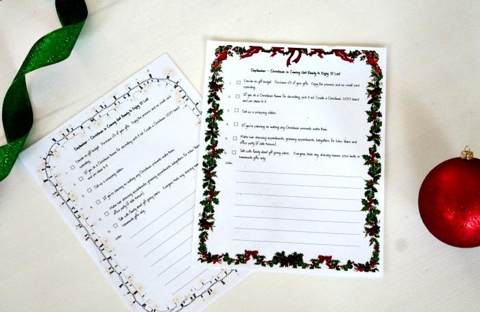 Christmas planner, Christmas organizer,Christmas Checklist, Christmas Planning