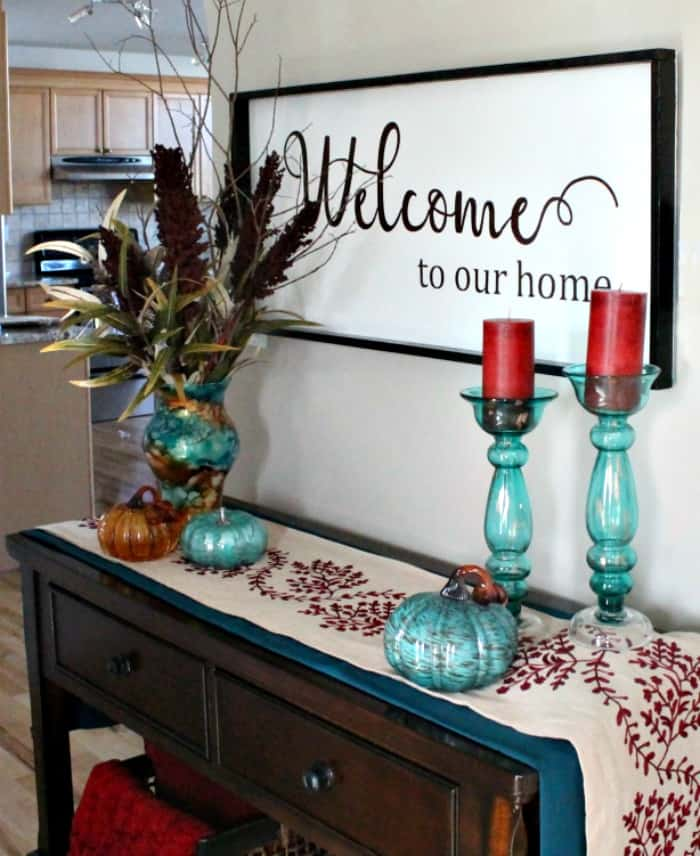 Fresh Fall Home Decorating Ideas Home Tour: Fall Home Tour And Blog Hop