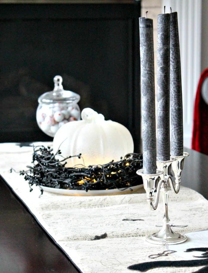 a coffee table decorated for halloween with pretty halloween decorations pretty halloween elegant halloween
