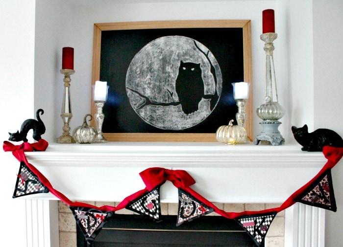 DIY Halloween Banner,banner halloween, diy halloween decor, diy Halloween decorations