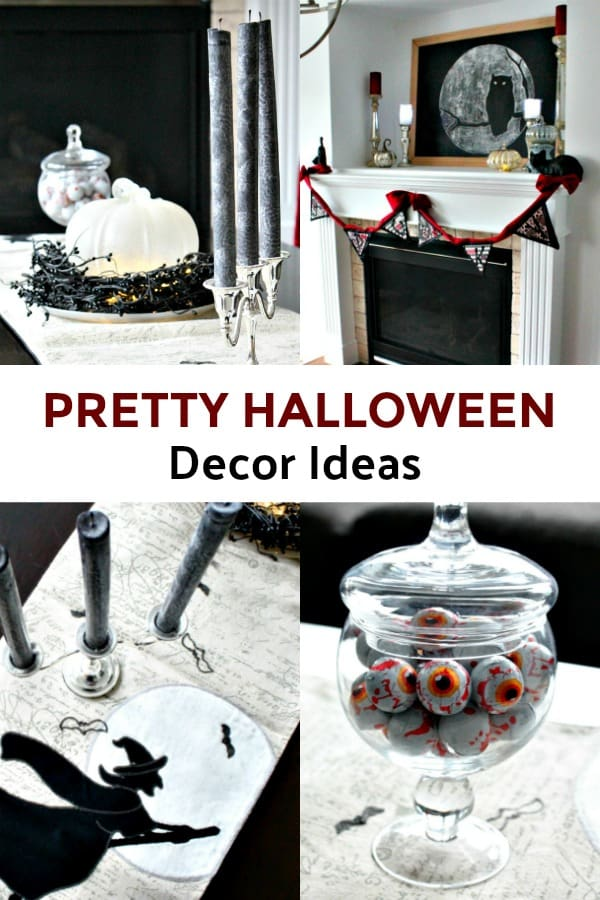 Pretty Halloween Decor Ideas